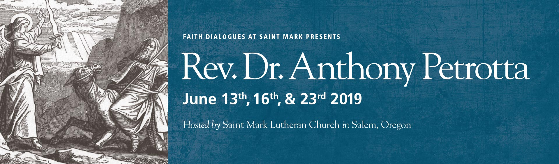Faith Dialogues with Rev. Dr. Anthony Petrotta